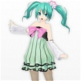 Miku Cosplay Costume (Colorful Drop) from Project DIVA