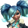 Evie Cosplay Costume from Paladins: Champions of the Realm