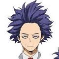 My Hero Academia Hitoshi Shinsou Parrucca