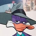 Darkwing Duck Cosplay Costume from Darkwing Duck