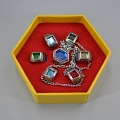 Shimon Rings De  Katekyo Hitman Reborn Cosplay (Set)
