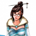 Mei Cosplay Costume (dress) from Overwatch