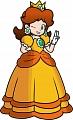 Princess Daisy Wig from Super Mario