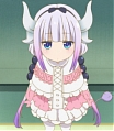 Miss Kobayashi's Dragon Maid Kanna Kamui Perücke (Head Accessory and Tail)