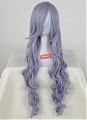 Long Curly Pale Purple Wig (1046)