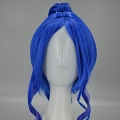 Long Straight Bright Blue Pony Tail Wig (1229)