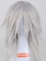 100 cm Long Spike Silver Wig (2516)