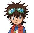Digimon Xros Wars Mikey Kudo Traje
