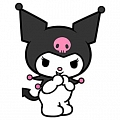Kuromi Cosplay Costume from Sanrio