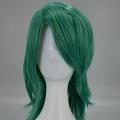 Medium Straight Green Wig (6475)
