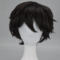 28 cm Short Black Wig (6333)