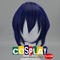 Medium Straight Dark Blue Wig (7648)