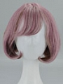 Short Curly Purple Wig (5762)