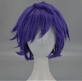 Short Purple Wig (6851)