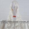 Long Wavy White Wig (7336)