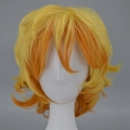 Medium Curly Mix Colour Wig (7024)