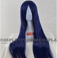 Long Straight Blue Wig (8600)