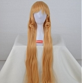 Longue ondulés Blond Perruque (6170)