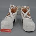 Lolita White Costume Shoes
