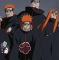 Akatsuki Cosplay Costume Coat from Naruto