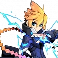 Gunvolt Cosplay Costume from Azure Striker Gunvolt 2