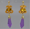 Black Lady Cosplay Costume Earring from Sailor Moon