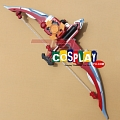 Kamen Rider Zangetsu.Shin Cosplay Costume Bow and Arrow from Kamen Rider Gaim (4053)