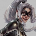 Black Cat Cosplay Costume from Spider Man PS4