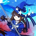 Wadanohara Cosplay Costume from Wadanohara and the great blue sea (4901)