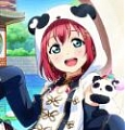 Ruby Cosplay Costume (China Dress, Idolized) from Love Live! Sunshine!!
