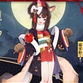 Neko Okami Cosplay Costume from Onmyoji