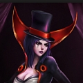 League of Legends LeBlanc la Embaucadora Disfraz (2nd)
