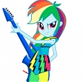 My Little Pony Rainbow Dash Scarpe (Rock)