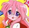 Lucky Star Miyuki Takara Perruque