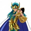 Camus Cosplay Costume from Saint Seiya: The Hades Chapter