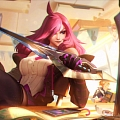 Katarina the Sinister Blade Cosplay Costume (2nd) from League of Legends