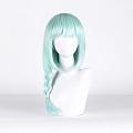 Long Braid Green Wig (4428)