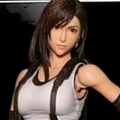Tifa Cosplay Costume (Artificial Leather) from Final Fantasy VII