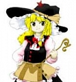 Marisa Wig (Yellow) from Touhou Project