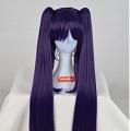 Long Purple Twin Pony Tails Wig
