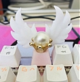 Black Lady Keycaps (Wings) from Sailor Moon