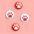 Nintendo Switch Paw Thumb Grips Caps Cover (Version E, For Switch Switch-Lite Joycon, Pack of 4)