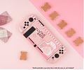 Pink Bear Nintendo Switch Protection Cover -TPU