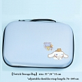3 Colors Cinnamoroll Nintendo Switch Storage Bag - Polyester and EVA