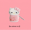 Cute Hello Kitty Phone | Silicone Case for Apple AirPods 1, 2, Pro
