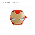 Iron Man | Airpod Case | Silicone Case for Apple AirPods 1, 2, Pro (81456)