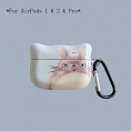 Lovely Totoro | Airpod Case | Silicone Case for Apple AirPods 1, 2, Pro Cosplay (81624)