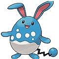 Pokemon XD Gale Of Darkness Azumarill 플러시 천 (2nd)