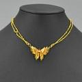 Kupfer elegant Schmetterling Collar Choker for Women Cosplay (3575)