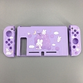 Purple Nintendo Switch Shell Protection Cover - Grapes and Rabbits